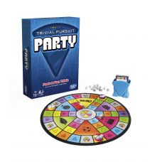Игра Trivial Pursuit Party Hasbro анг язык