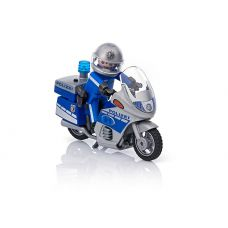 Полицейский патруль с мотоциклом Playmobil City Action 6876
