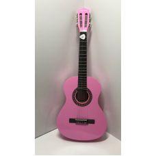 Гитара Play On классическая 86 см розовая