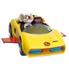 Автомобиль с фигуркой  Danger Mouse Mark IV Car некомлект