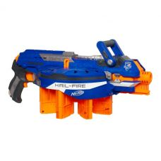 Бластер  NERF N-Strike Elite Hail-Fire Blaster