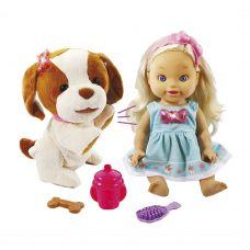 Кукла со щенком VTech Little Love Amelia y su perrita испанский язык уценка 2