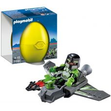 Игрушка в яйце PLAYMOBIL 5281 Robo Gang Spy with Glider