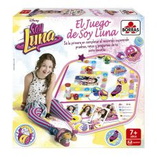 Настольная игра Soy Luna El Juego de Soy Luna испанский язык