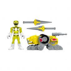 Фигурка Imaginext Power Rangers Желтый рейнджер с бронекостюмом