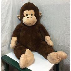 Мягкая игрушка обезьяна плюшевая огромная