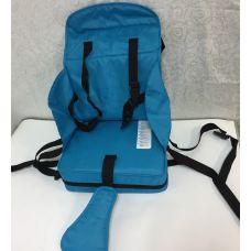 Сидушка для малышей на стул голубая