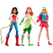 Фигурки DC Super Hero Girls Triple Team Collection вариант 1