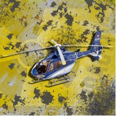 Модель Revell 05724 Eurocopter EC135 The Flying Bulls вертолет