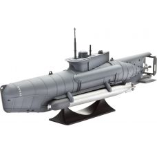 "Модель Revell 05125 German Submarine Type XXVII B ""Seehund"" (+клей/краски)"