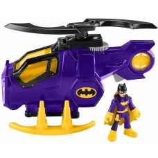 Вертолет Бэтгерл Imaginext Legends of Batman Batgirl Helicopter замена фигурки